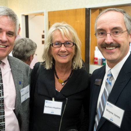 Chuck Zercher, Barbara Hopkins, Wayne Jones