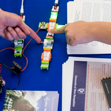 Cool stuff at the STEM Teachers' Collaborative table