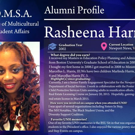 Rasheena Harris | Alumni Profile