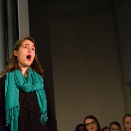 UNH student sings cabaret