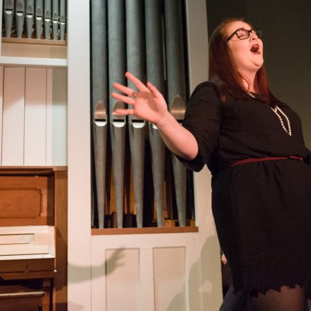 UNH student performs cabaret