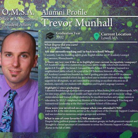 Trevor Munhall | Alumni Profile