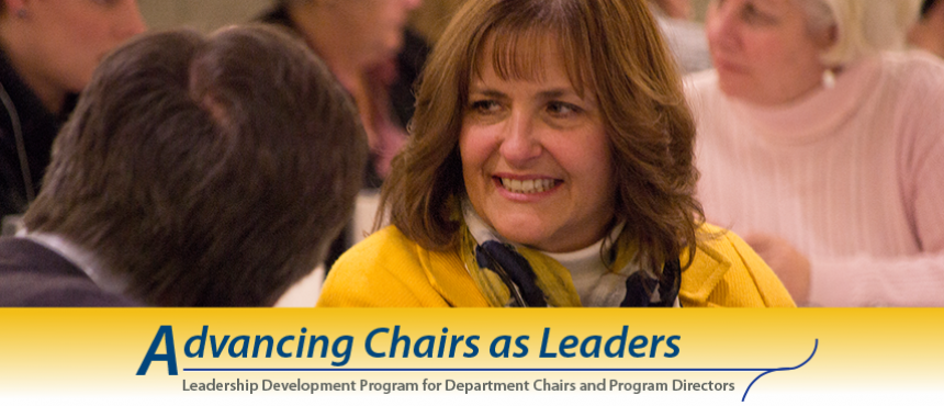 Advancing Chairs as Leaders
