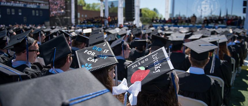 A look at the 2017 Commencement Stage
