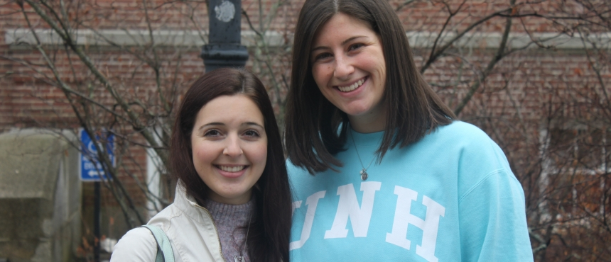 Student Body President Rotenberg and Student Body Vice President Burroughs