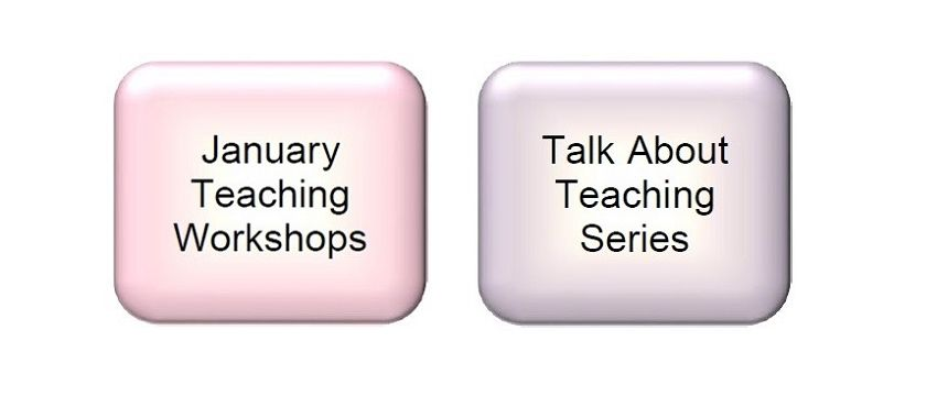 January Teaching Workshops and TAT Series