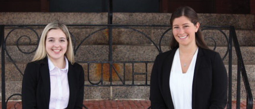 Student Body President Carley Rotenberg and Student Body Vice President Alexandra Burroughs