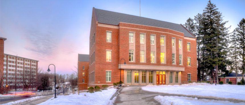 Paul college in Winter.