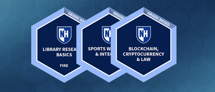 UNH Micro-credentail badges