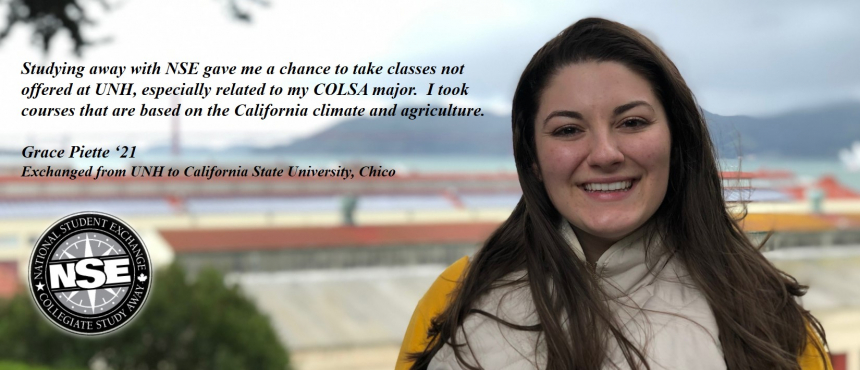 Alumna with quote
