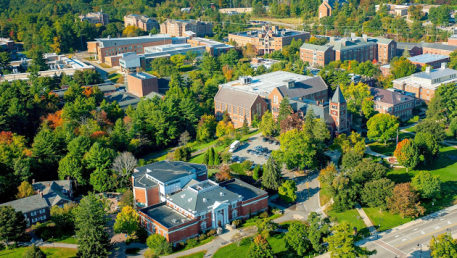 Aerial view of UNH