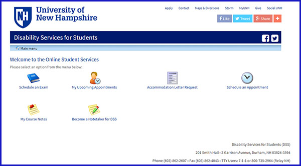 Screenshot of ClockWork web portal