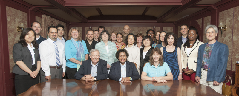 Group picture of the 2013 Writing Academy Faculty Scholars and Leaders