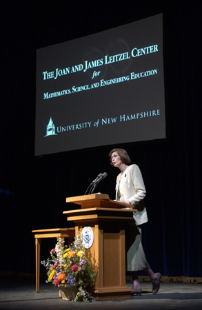 Image of a Leitzel Center presentation