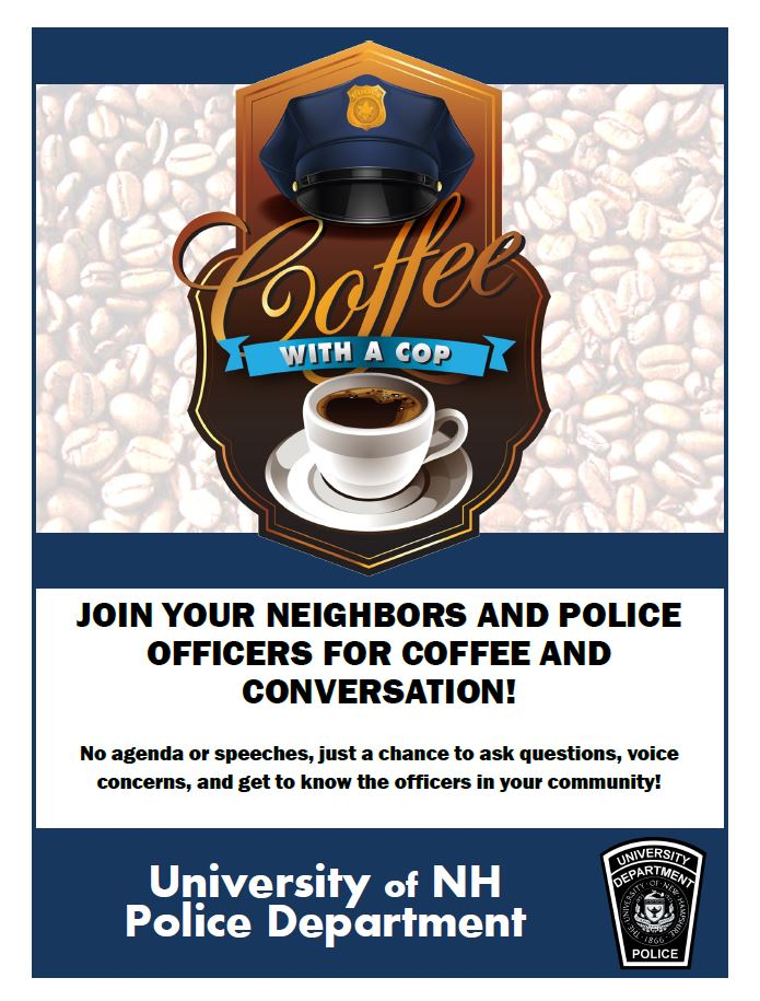 Coffee With A Cop University Of New Hampshire