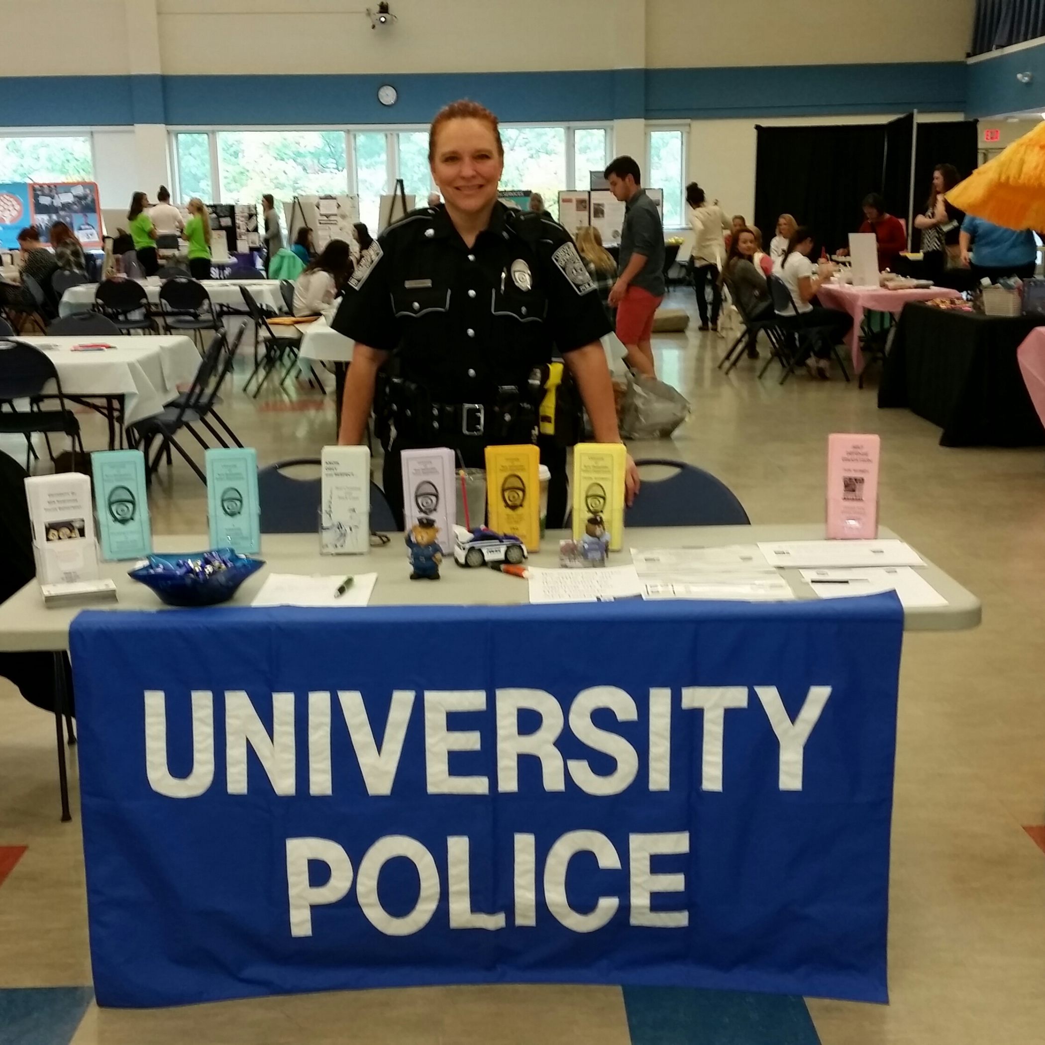 Officer Bowman at Women's Expo Event