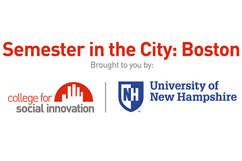 UNH Center for Social Innovation and Enterprise Semester in the City