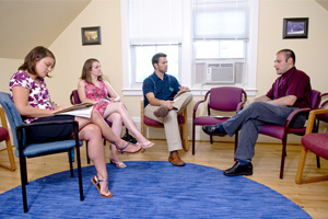 student interns in counseling