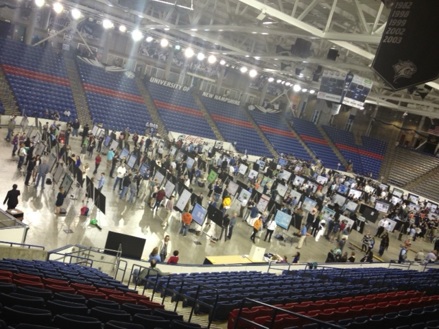 Photo of the URC-ISE at the Whittemore Center Arena