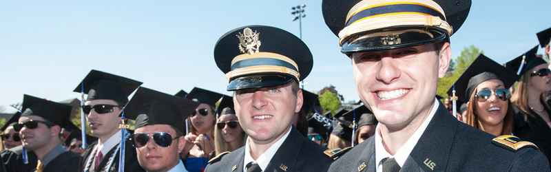 unh graduating rotc students