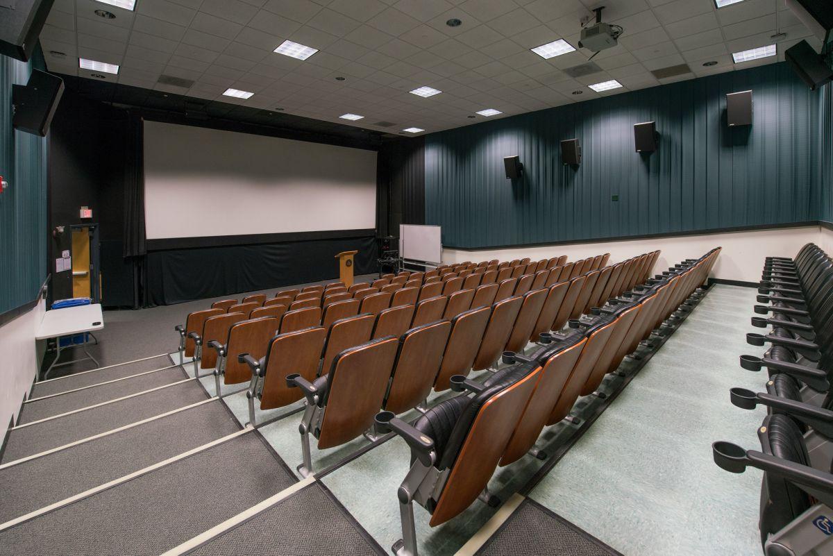 memorial union building theatres i and ii university of