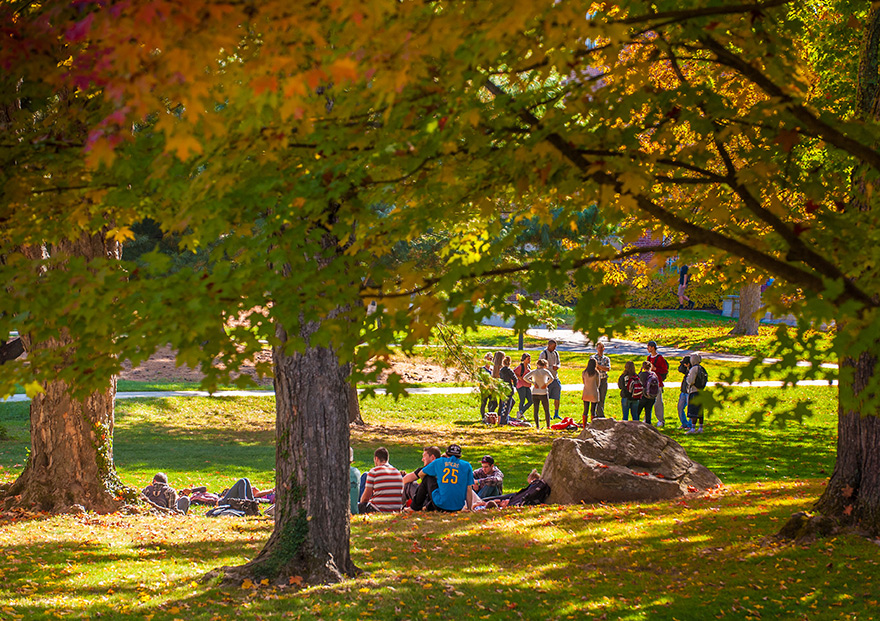 UNH in the autumn