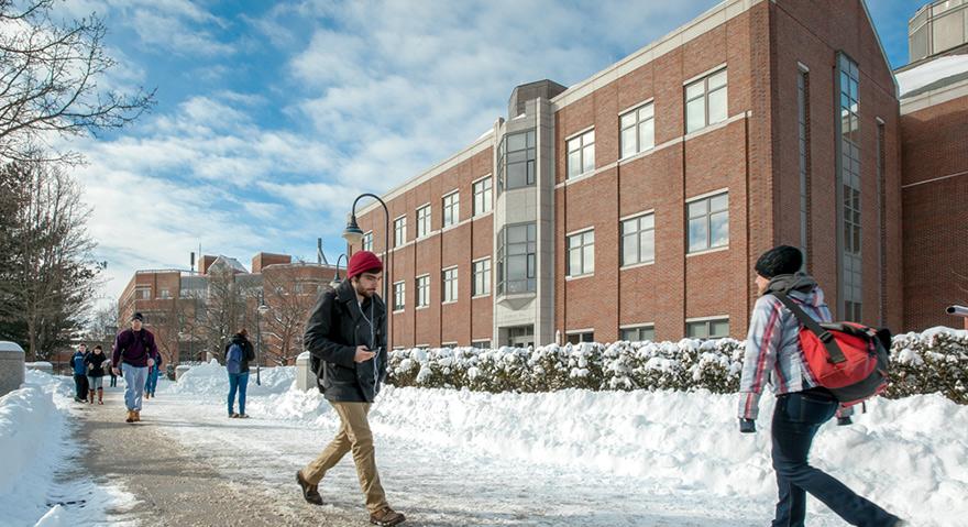 UNH Durham campus scene