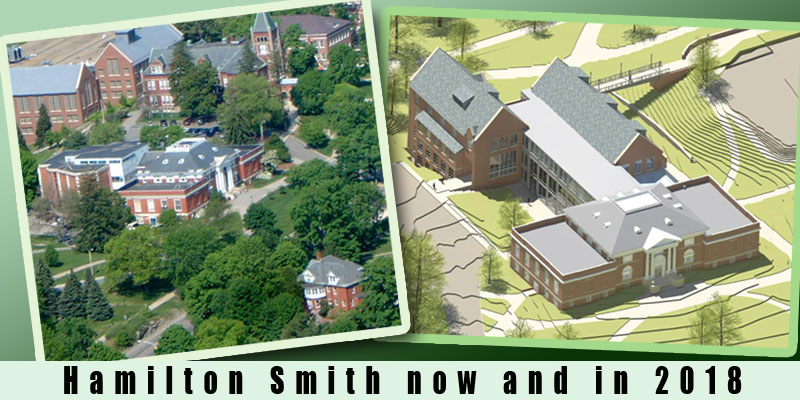 Hamilton Smith Hall Now and in 2018