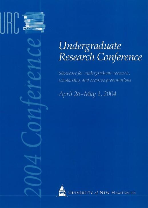 2004 URC Program