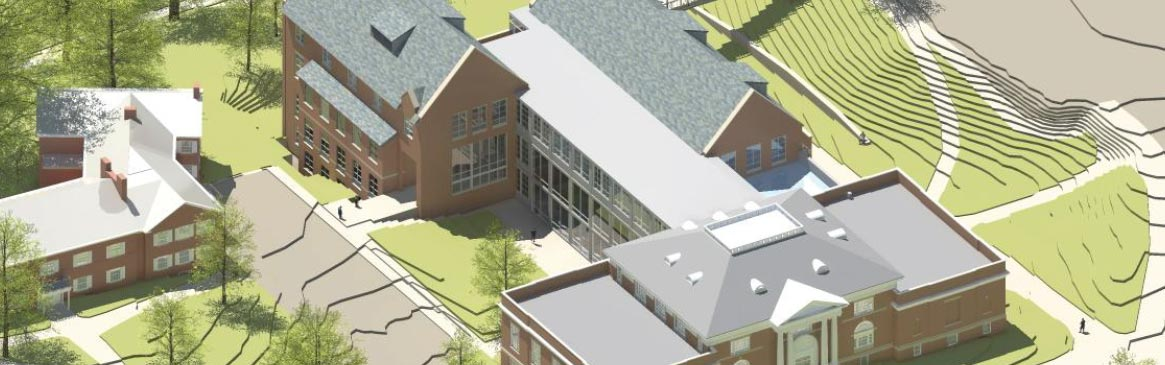 Rendering of Hamilton Smith Hall after Renovation
