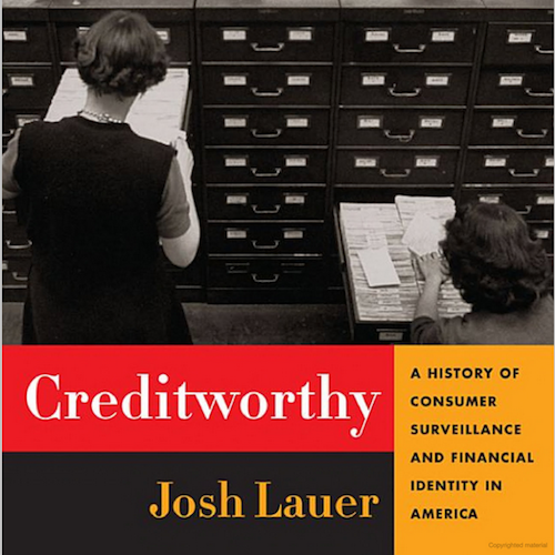 Book cover of Creditworthy by Josh Lauer