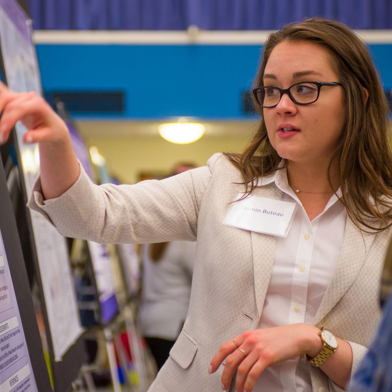 Jasmin Buteau, UNH graduate