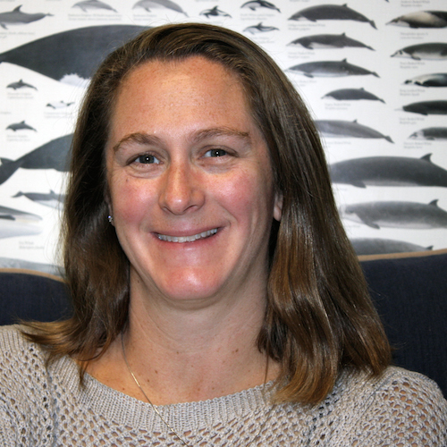 UNH marine acoustician Jennifer Miksis-Olds