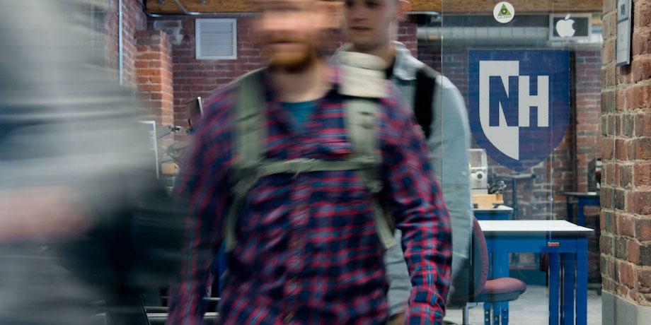 Students in between classes