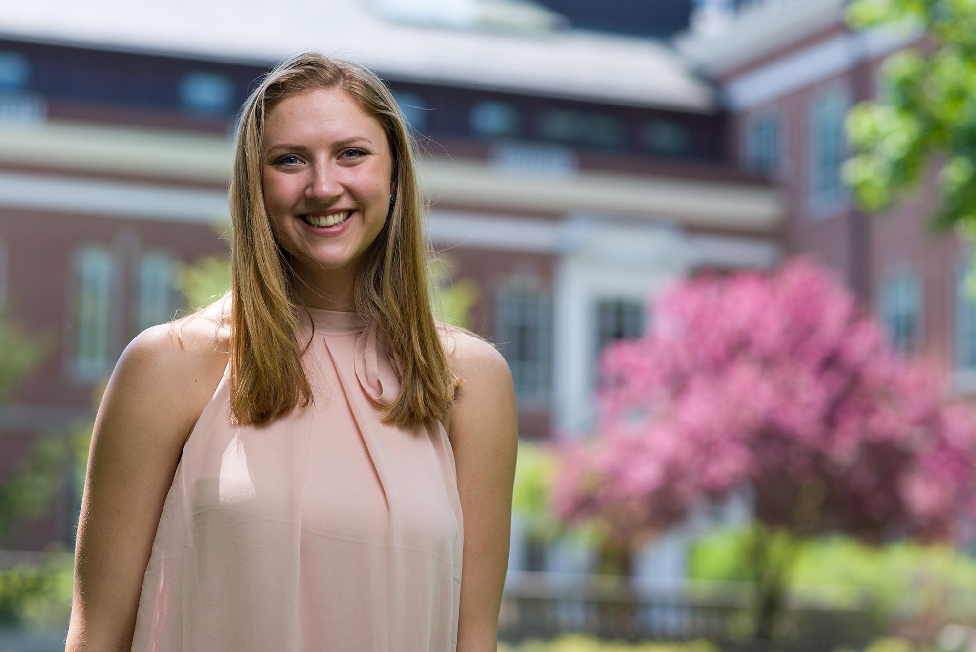 UNH graduate Meg H.