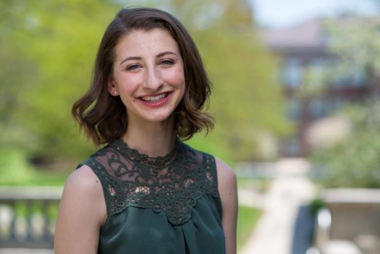 UNH graduate Rachel Sabol