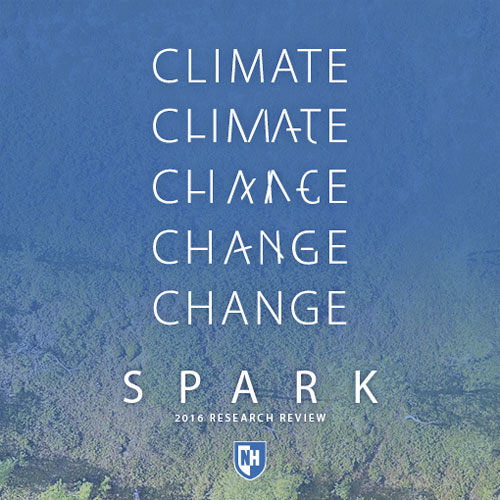 Spark climate change magazine cover