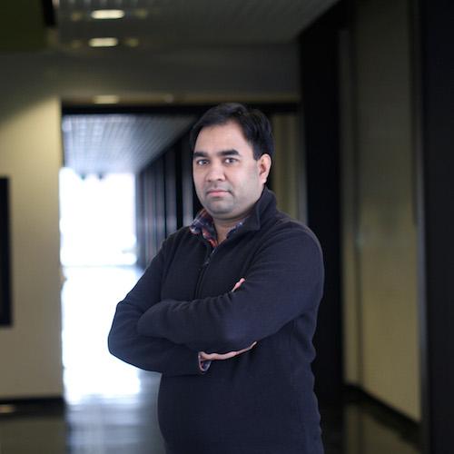Researcher Harish Vashisth
