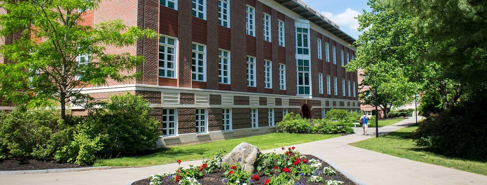 UNH campus in Durham, NH