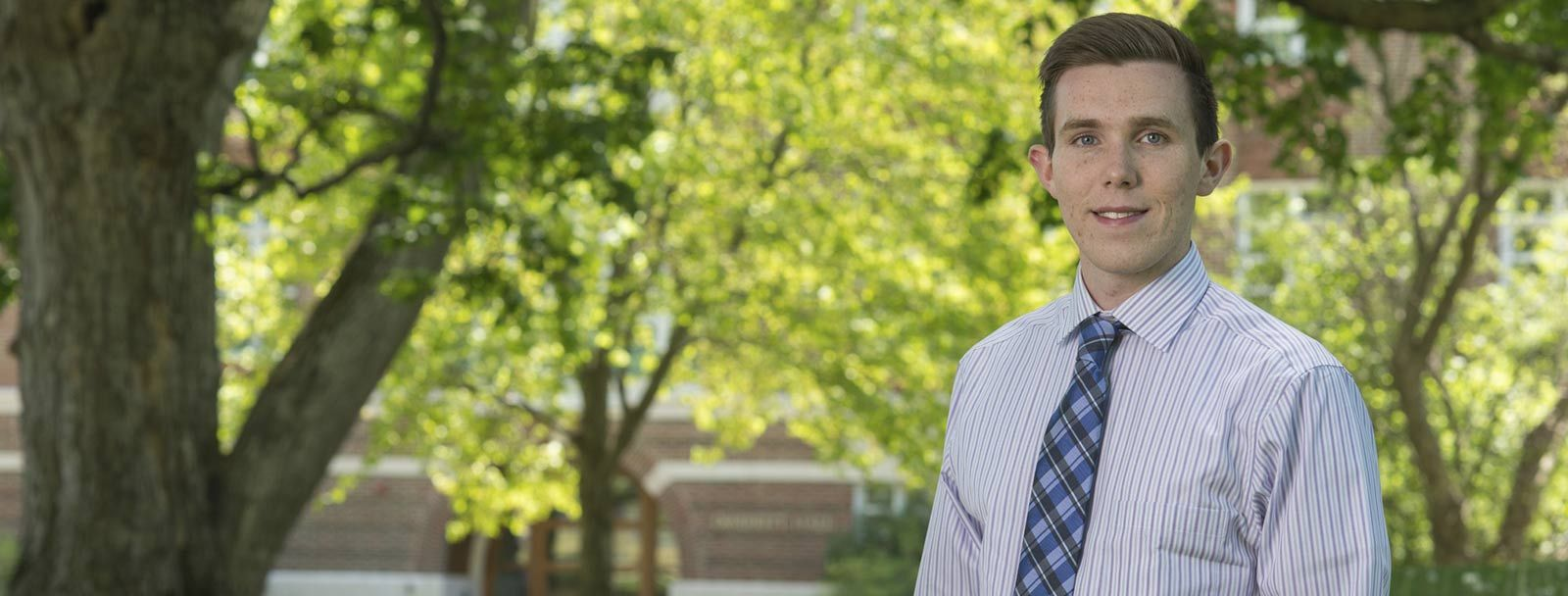 UNH student Ross Conroy '17