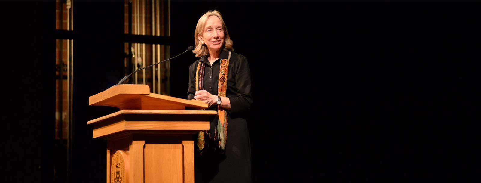 Doris Kearns Goodwin at the University of New Hampshire