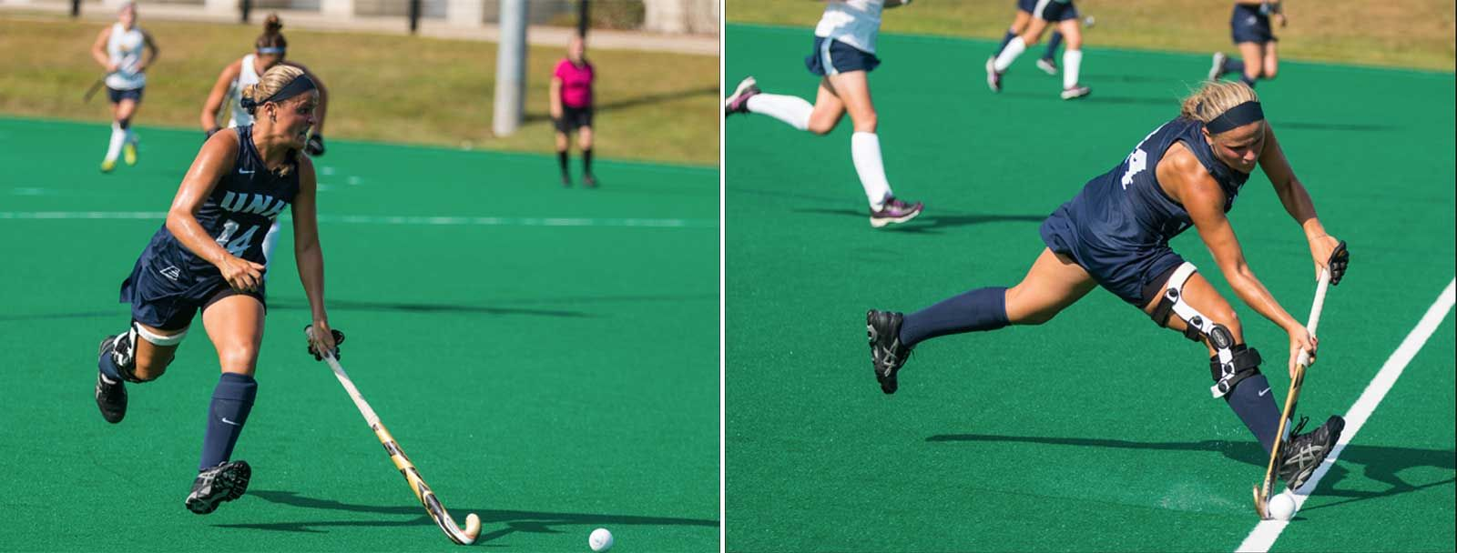 UNH field hockey midfielder Gianna Bensaia