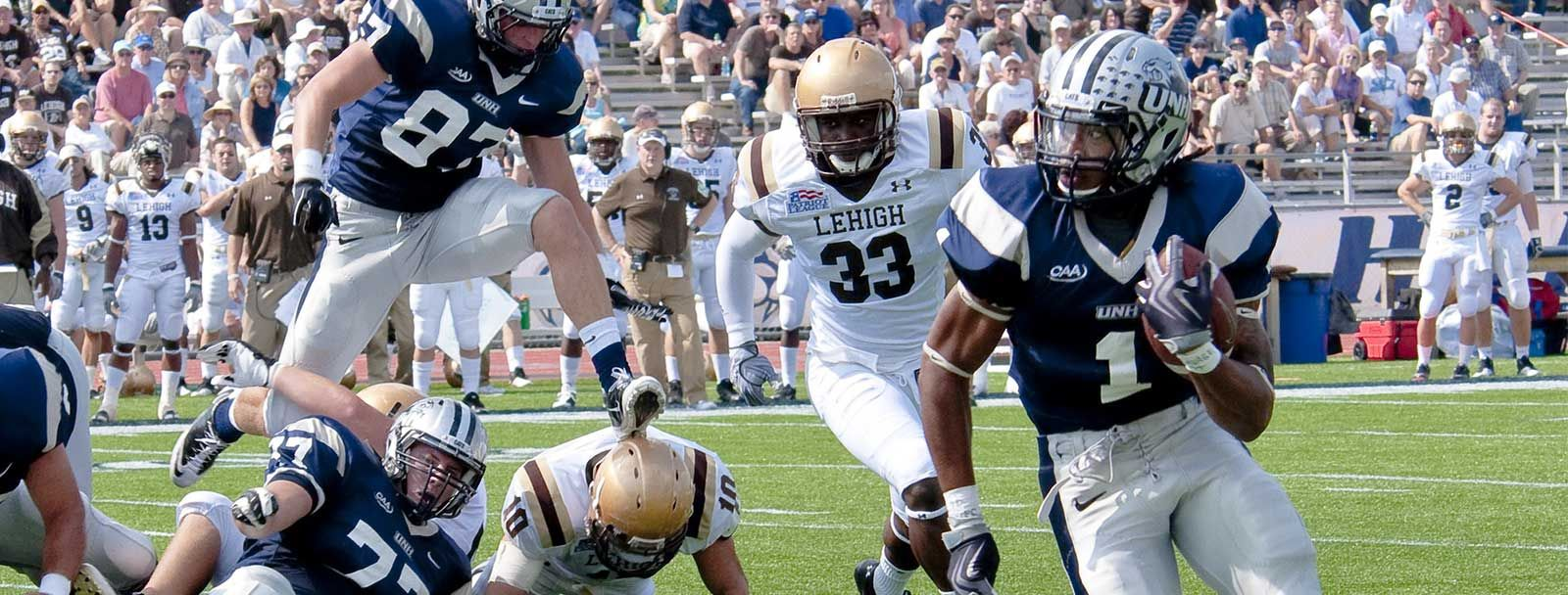 UNH Football home opener of 2014 September 13