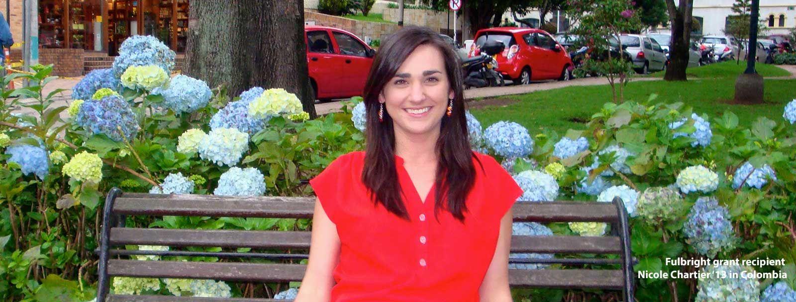 UNH alumna Nicole Chartier '13