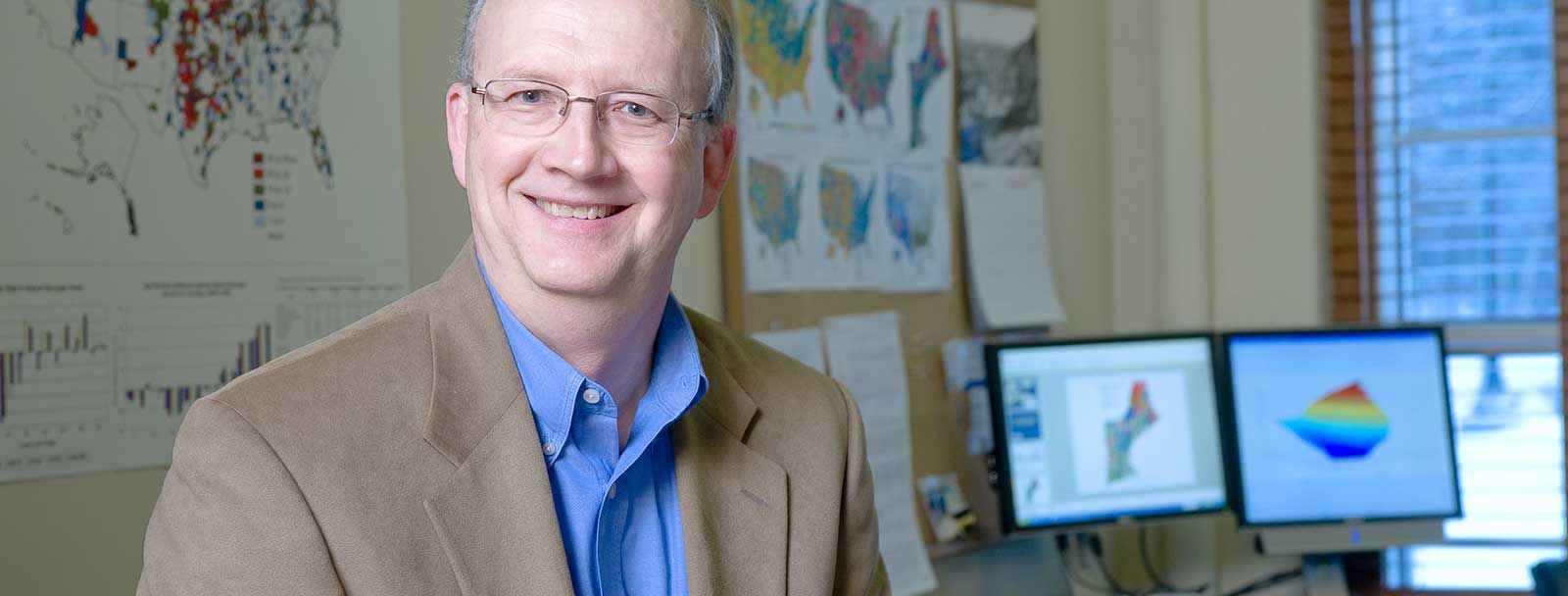 UNH demographer Ken Johnson