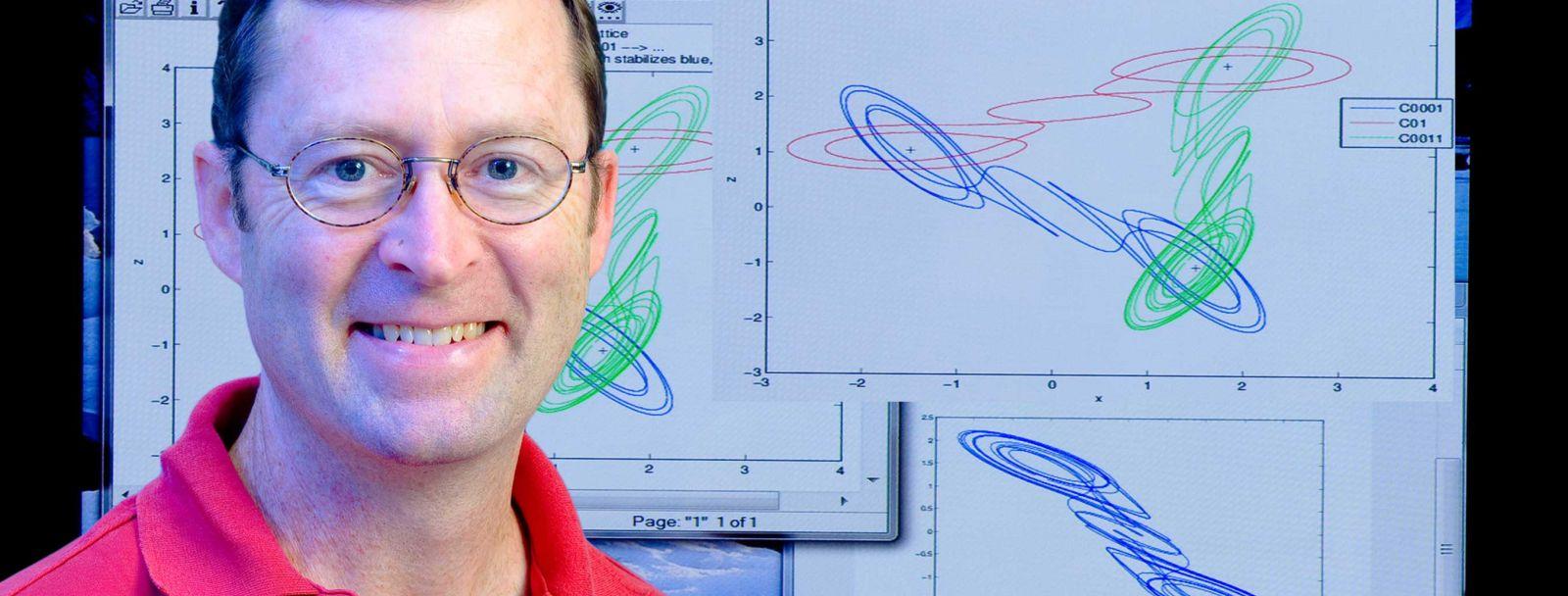 UNH math professor Kevin Short