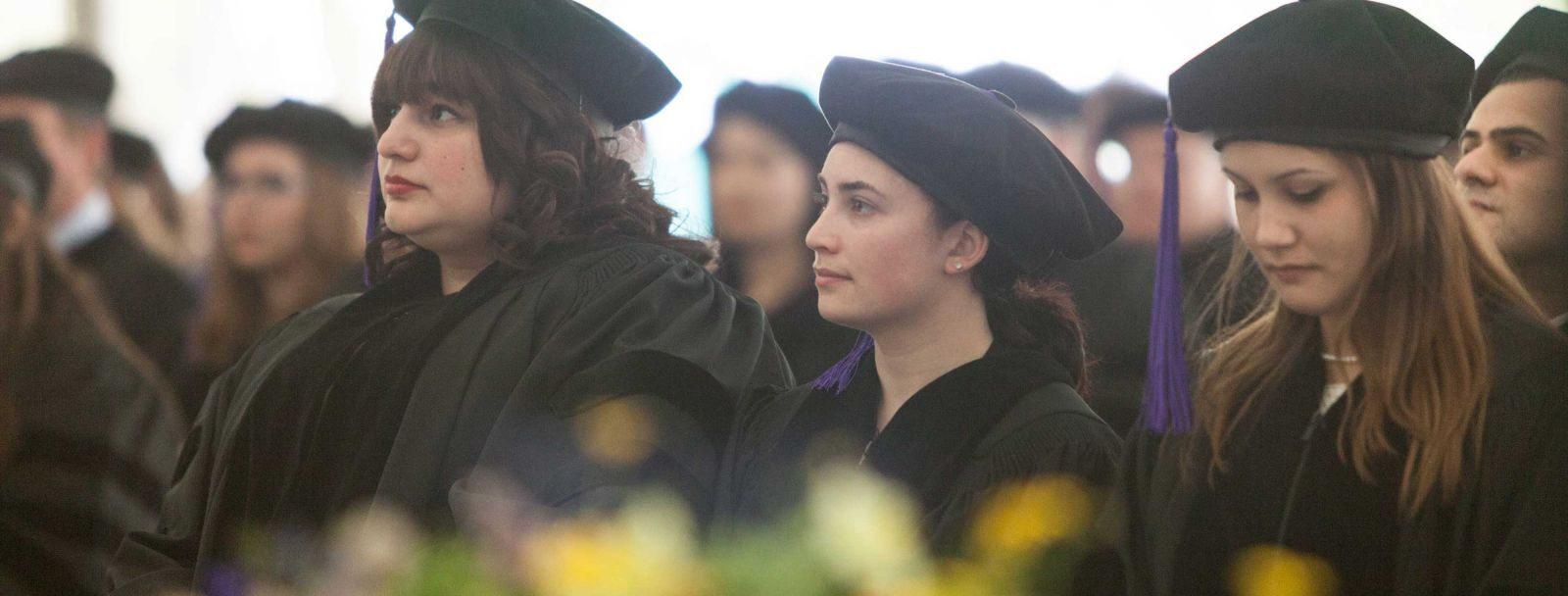 UNH Law graduates at their Commencement