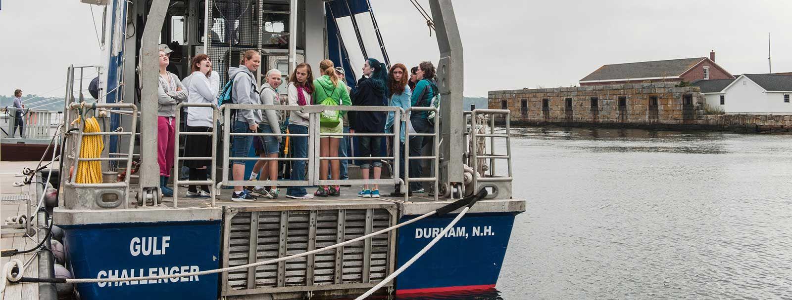 UNH Ocean Discovery Day October 4, 2014