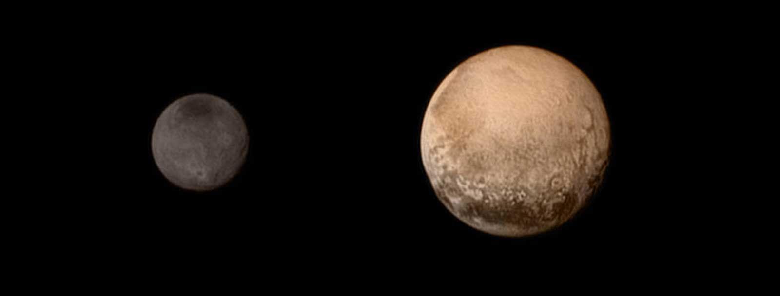 Pluto and Charon (NASA image)