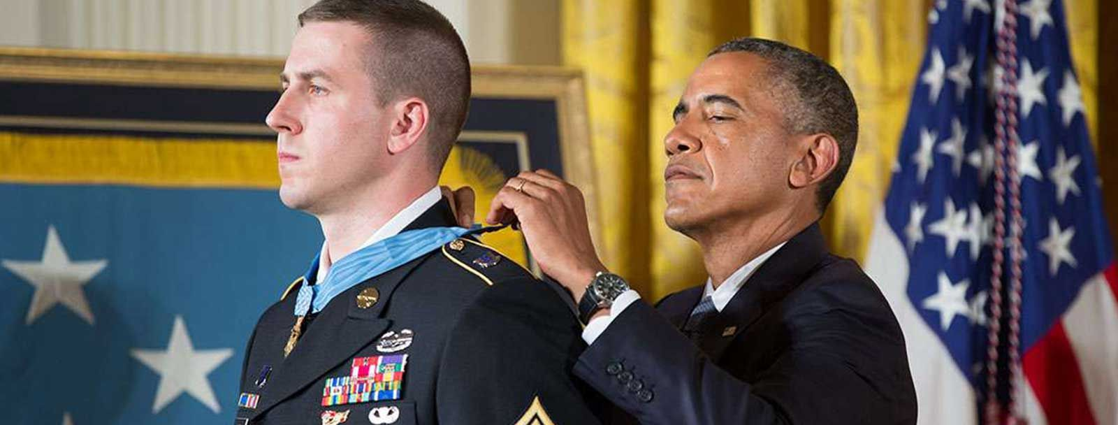 UNH alumnus and Medal of Honor recipient Ryan Pitts